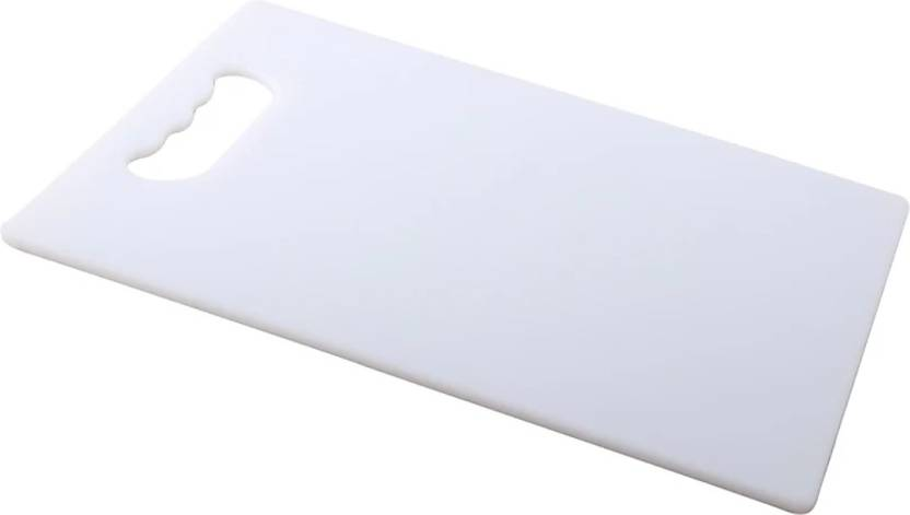 Rinkal Thick Plastic Made Chopping Board With Finger Hole Cutting