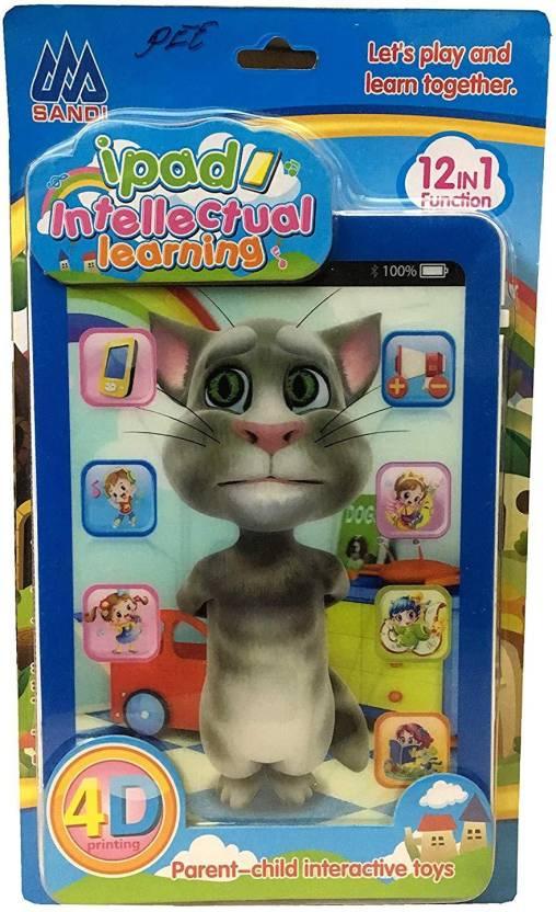 Akshat Ipad Intellectual Learning Talking Tom Cat 4d Printing Price