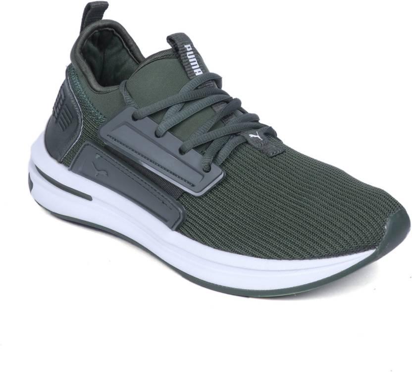 8f10fe846db6 Puma Ignite Limitless SR Green Running Shoes For Men - Buy Puma ...
