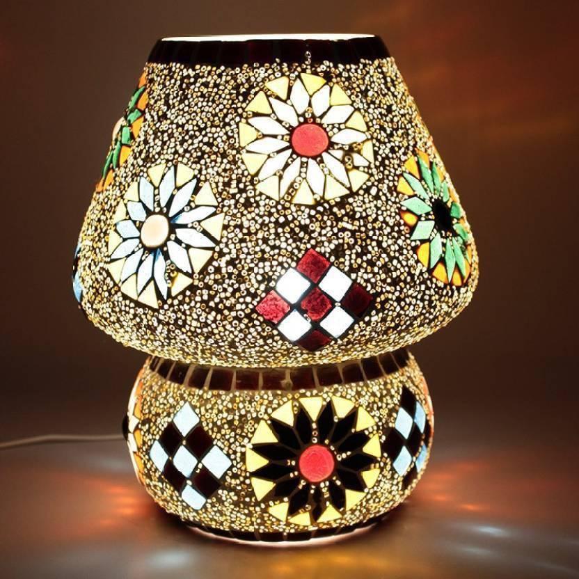Strange Mozaic Handcrafted Multicolor Mushroom Shaped Mosaic Table Interior Design Ideas Clesiryabchikinfo