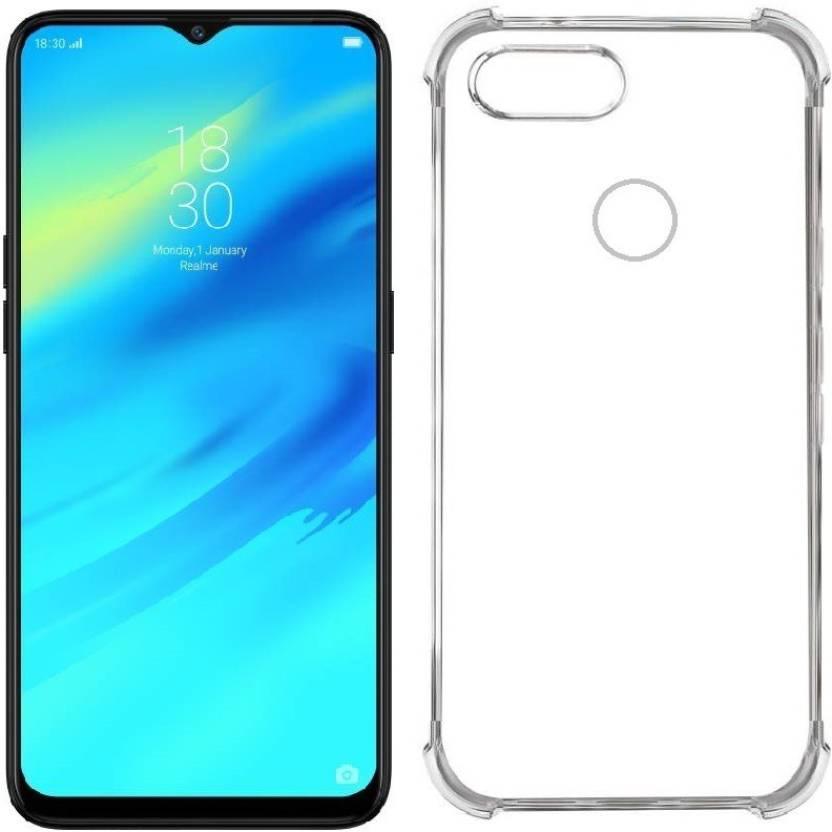 54159c472 Khushal Back Cover for OPPO Realme 2 Pro  Flexible (Transparent ...