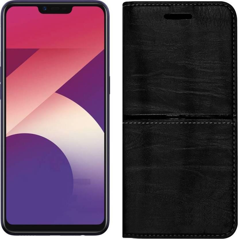 brand new 50e83 d27b2 Roxel Flip Cover for OPPO A3s (Purple, 16 GB) (2 GB RAM) - Roxel ...
