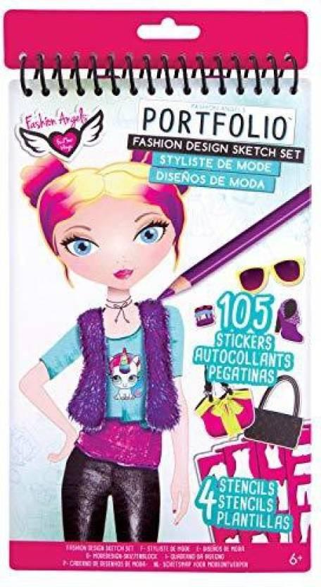 Fashion Angels Fashion Design Compact Sketch Portfolio Fashion