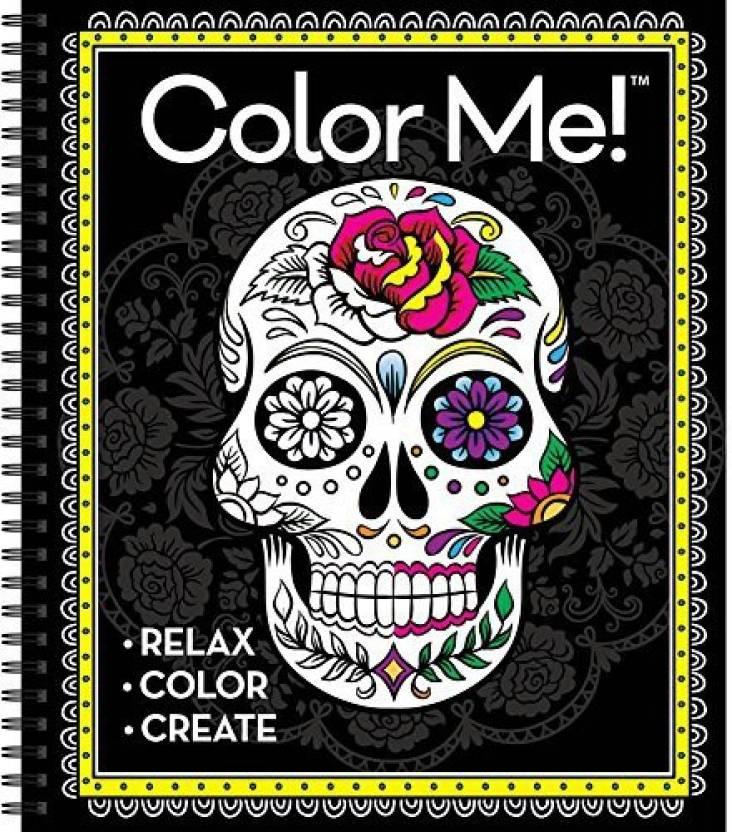 Genrc Publication International Color Me Cool Sugar Skulls