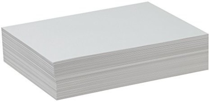 Lightweight White 500 Sheets Pacon PAC4739 Drawing Paper 9 x 12