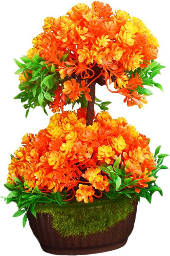 Sky Trends Artificial Flower Pot For Home Decoration Artificial