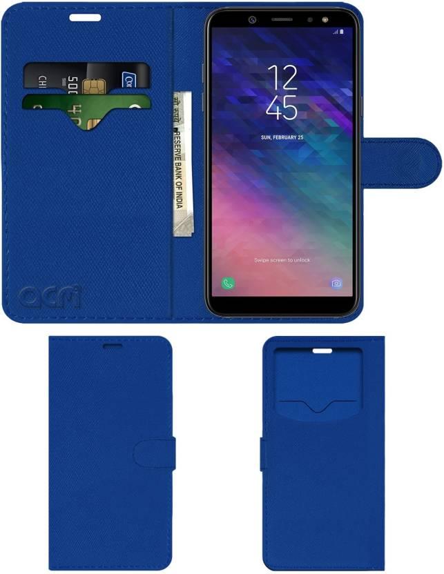 cheap for discount 51585 ba6e0 ACM Flip Cover for Samsung Galaxy A6 Plus - ACM : Flipkart.com