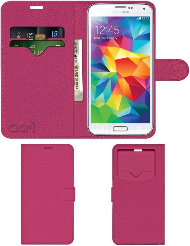 the best attitude 5d8c1 2ccee ACM Flip Cover for Samsung Galaxy S5 - ACM : Flipkart.com