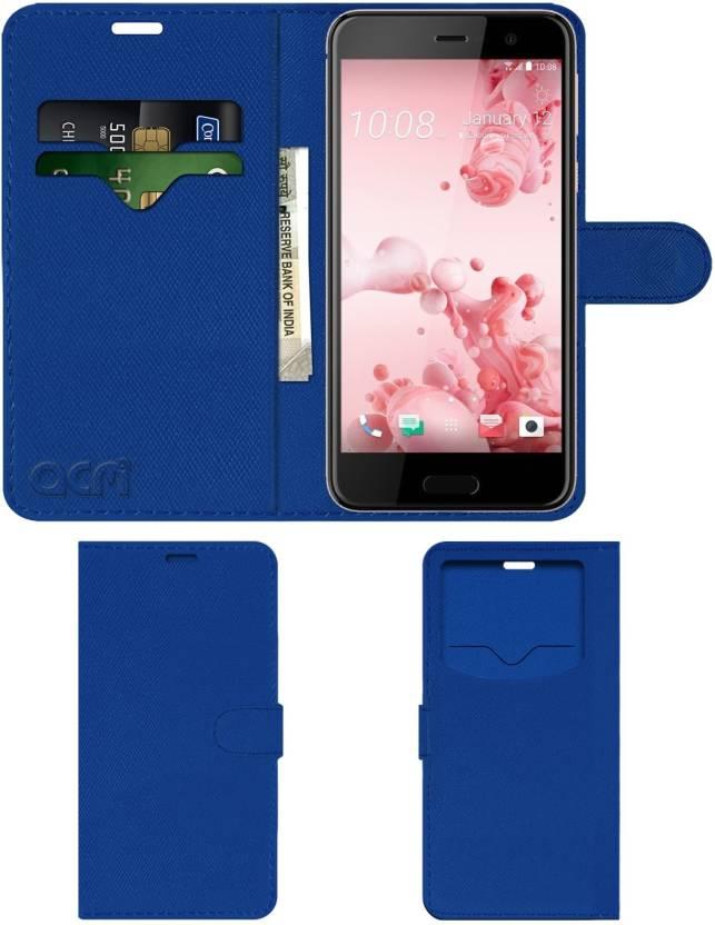 c53a6556166cbd ACM Wallet Case Cover for Htc U Play - ACM   Flipkart.com