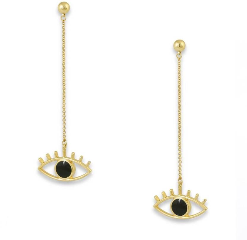 2754e4292f87 Flipkart.com - Buy Bling Bag Bling Style Mascara Drop Earrings Alloy Dangle Earring  Online at Best Prices in India