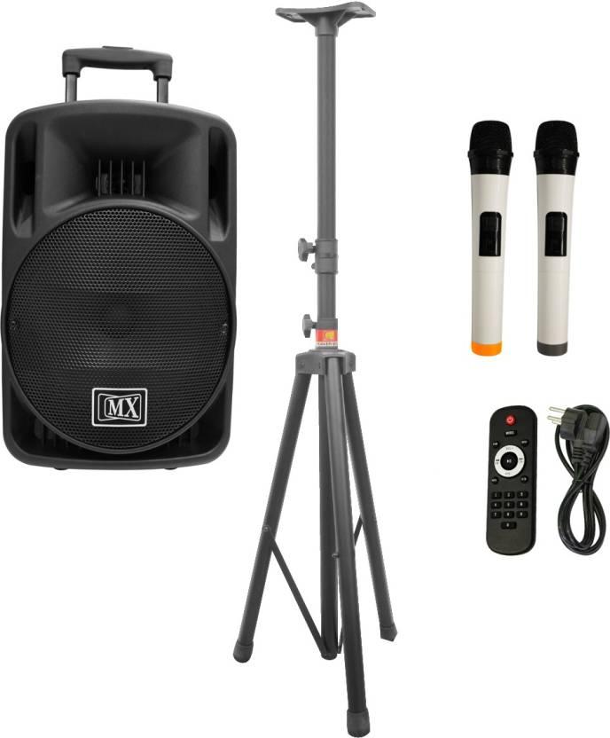 MX Premium 12 inches Portable Multimedia Trolley Speaker