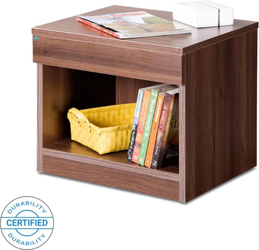 1f2e156a9aaa Delite Kom Bedside Table Acacia Dark Engineered Wood Bedside Table (Finish  Color - Acicia Dark)
