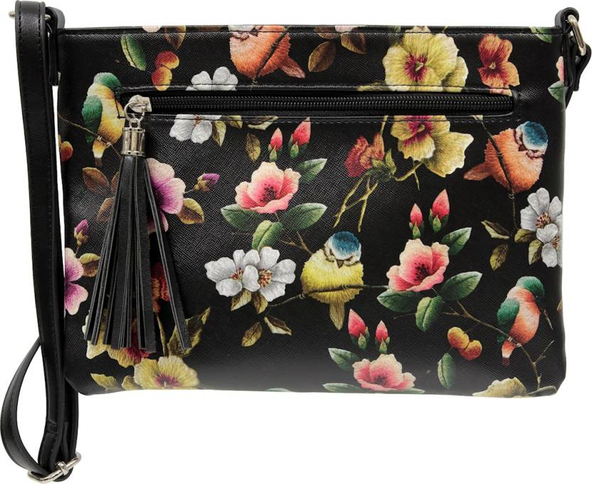 Sassy Duck Women Casual Multicolor Pu Sling Bag