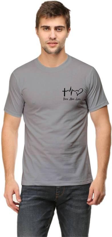 1f964c7b Rawpockets Graphic Print Men & Women Round Neck Grey T-Shirt - Buy  Rawpockets Graphic Print Men & Women Round Neck Grey T-Shirt Online at Best  Prices in ...