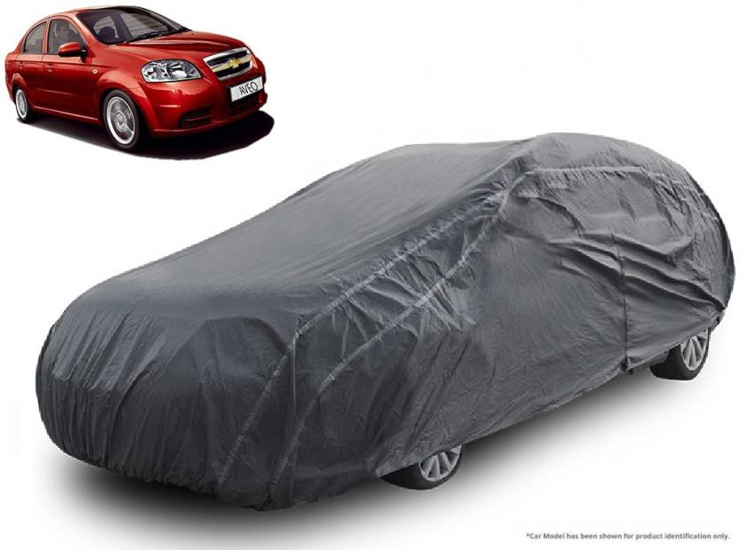 Royalrich Car Cover For Chevrolet Aveo Without Mirror Pockets