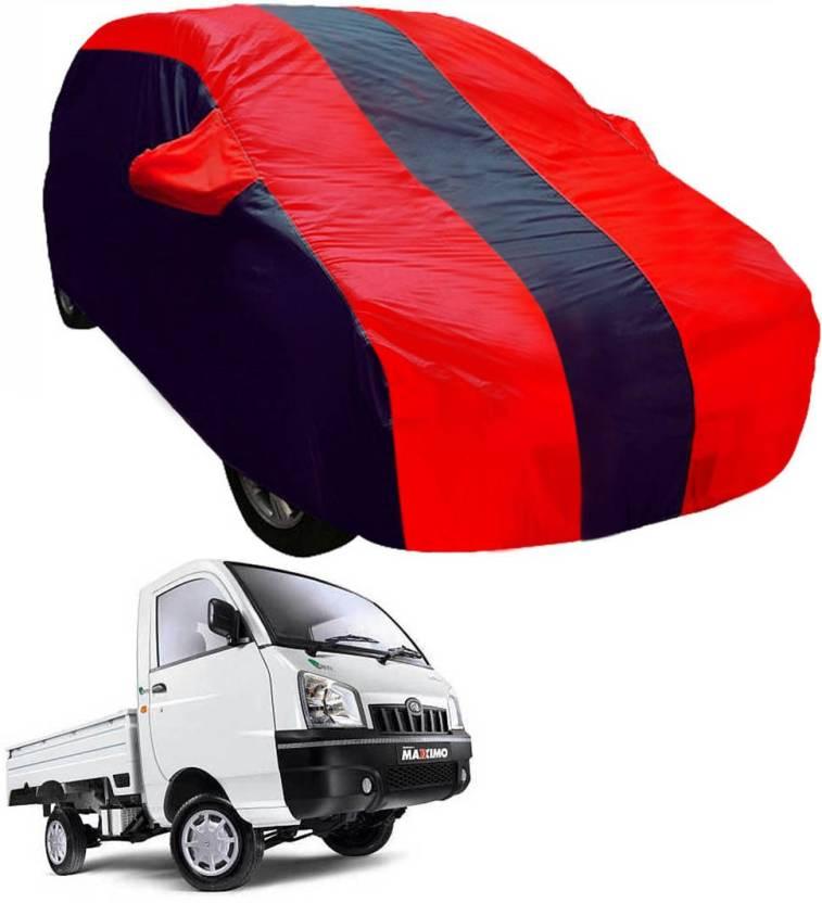 Adroitz Car Cover For Mahindra Maximo Plus With Mirror Pockets