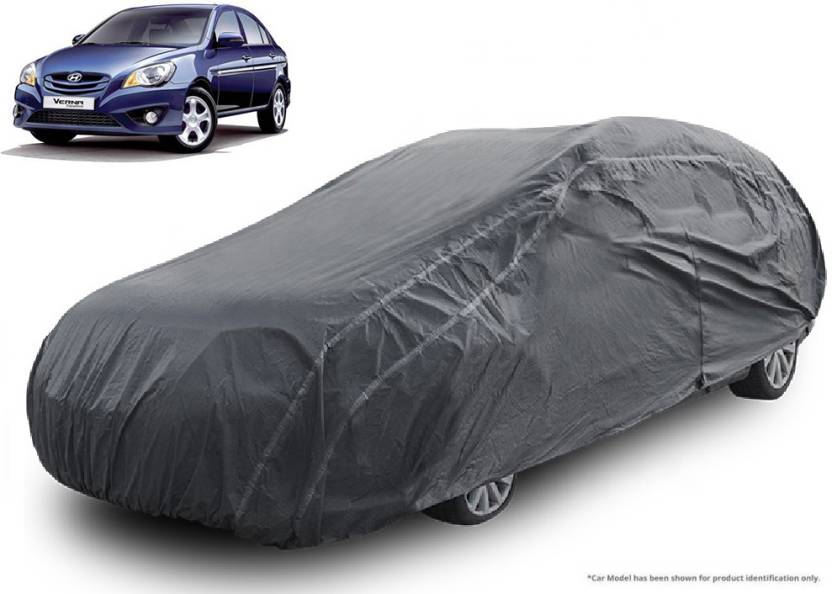 Royalrich Car Cover For Hyundai Verna Transform Without Mirror