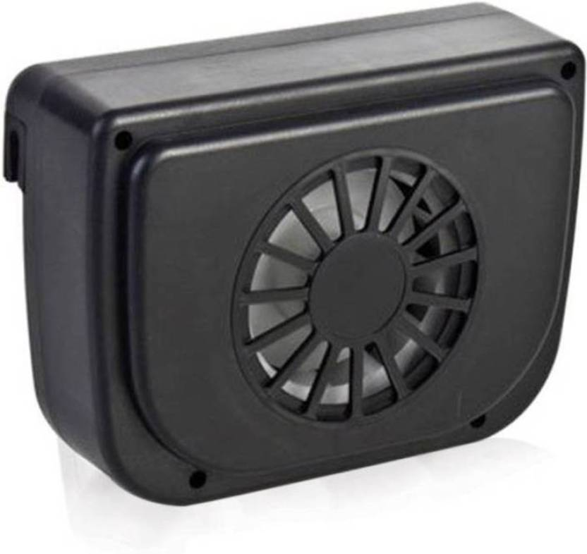 Devotion Auto Cool Ventilation Car Accessories Fan Solar Powered