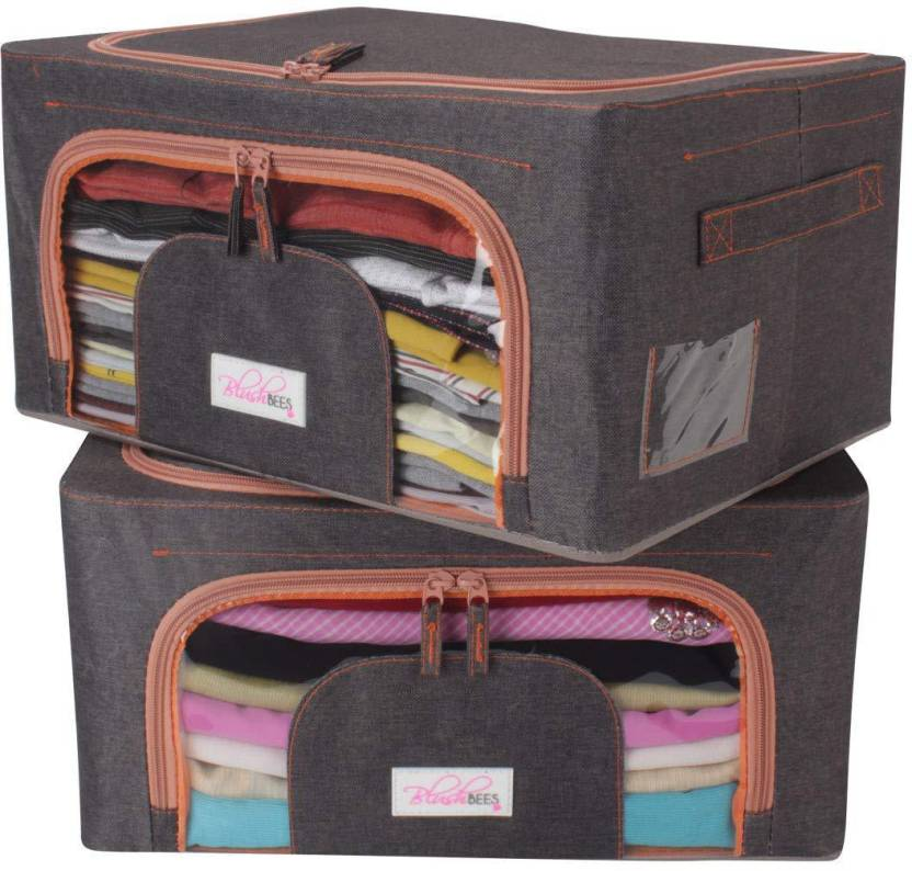 02404a09f144 BlushBees Living Box - Cloth Storage Bags, Wardrobe Organizer - 24 ...