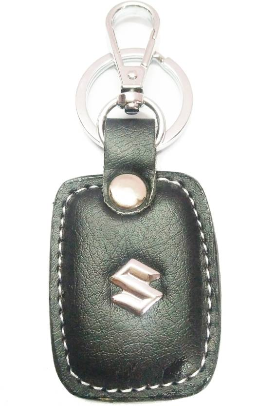 Prime Keychain SUZUKI METAL WITH LEATHER Fancy Key Chain BP Key