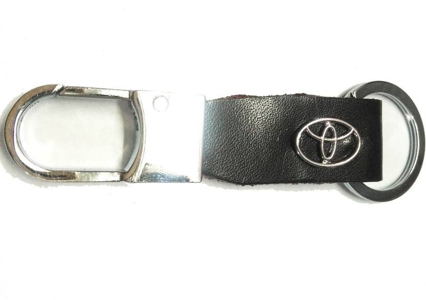 Prime Keychain TOYOTA METAL WITH LEATHER Fancy Key Chain BL Key