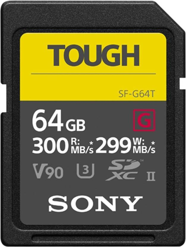 Sony SF-G 64 GB SD Card UHS Class 3 300 MB/s  Memory Card