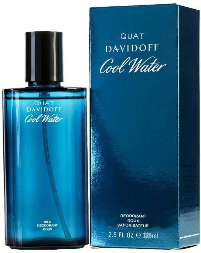 6889b4f3f86 Buy Quat Davidoff cool water Eau de Toilette - 125 ml Online In ...