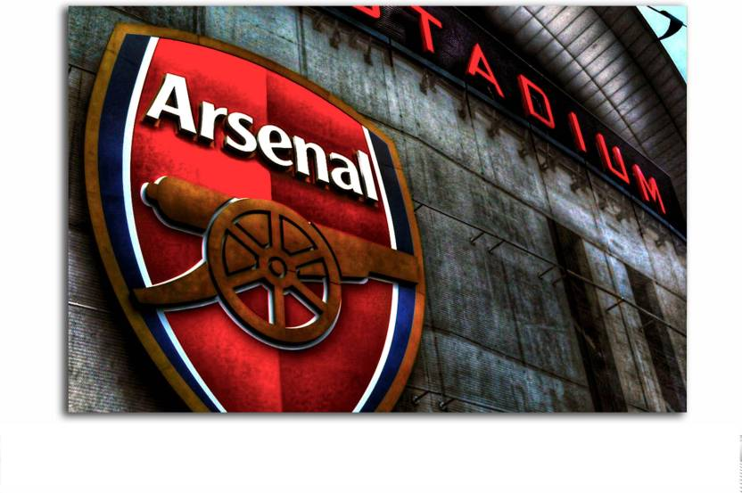 7425220f0 Gaming Poster - Arsenal FC - Logo - Football Club - Large Size Poster - HD  Quality Sports Poster - 36 inches ...