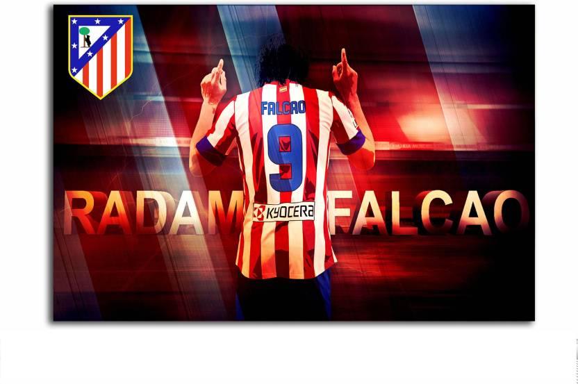 Atletico Madrid Football Club Poster Radamel Falcao Fan