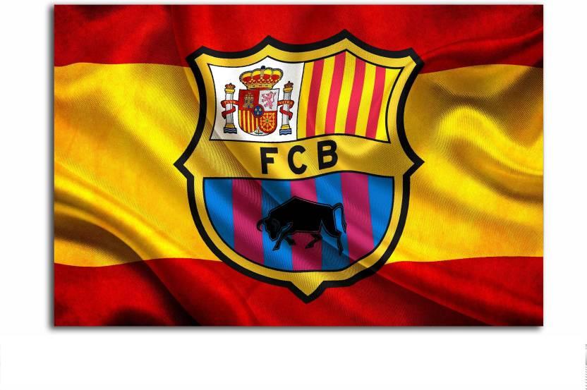 Gaming Poster F C Barcelona Football Club Logo Large