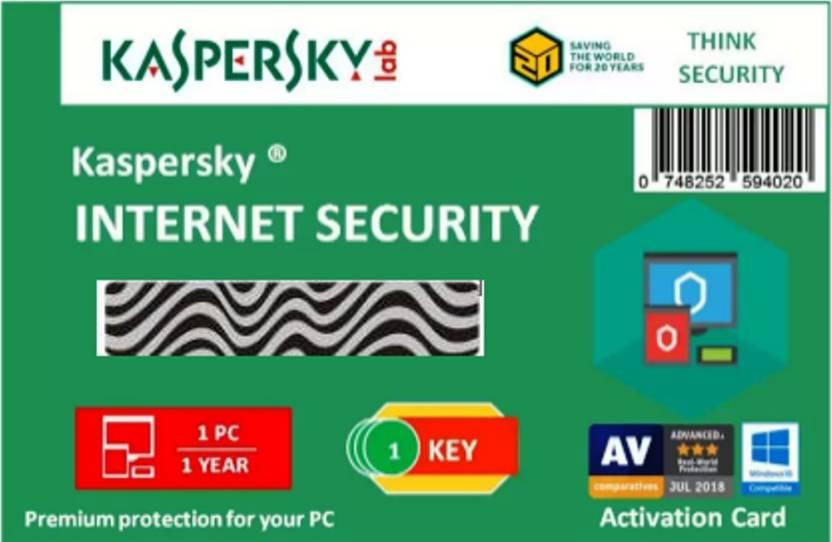KASPERSKY Internet Security 2019 - 1 Pc / 1 Year / 1 User [1