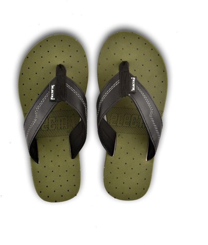 Olive Green Color Flip-Flops