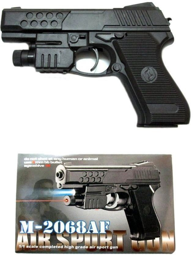 Miniature Dollhouse Western Handgun w//  Light Stock  ISL   202