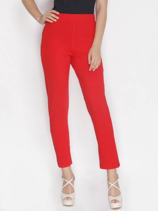 5aa6bc46fbe85 Lux Lyra Slim Fit Women Red Trousers - Buy Lux Lyra Slim Fit Women Red  Trousers Online at Best Prices in India | Flipkart.com