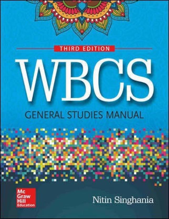 buy online 6b59d 7c159 WBCS (West Bengal Civil Services) General Studies Manual (English,  Paperback, Nitin Singhania)
