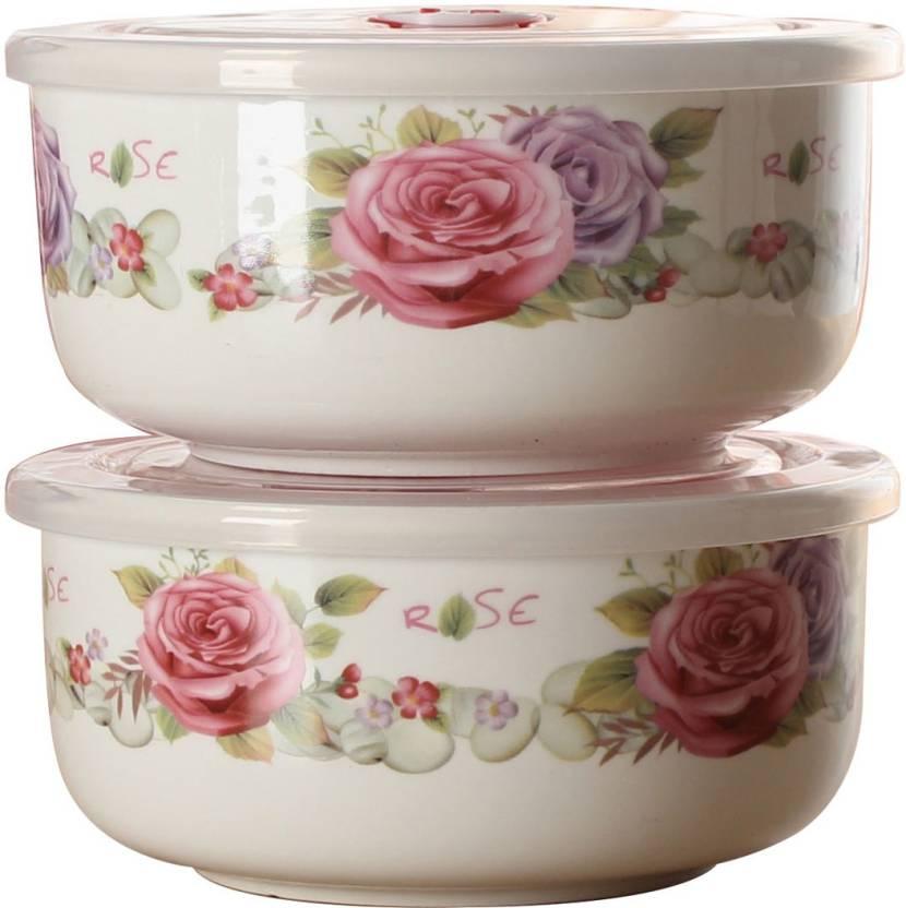 9a5d89065 BUY SURETY Elegant design Ceramic Fine Bone china Storing Serving Bowls  Household Dinnerware Fruit Bowls