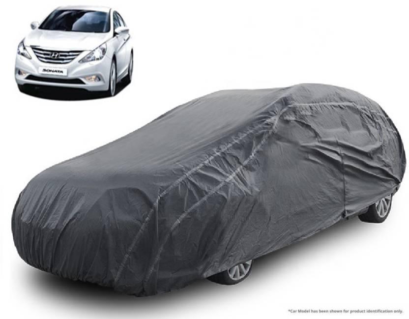 Royalrich Car Cover For Hyundai Sonata Fluidic Without Mirror Pockets Grey 2005 2006 2007 2008 2009 2010 2017 2016