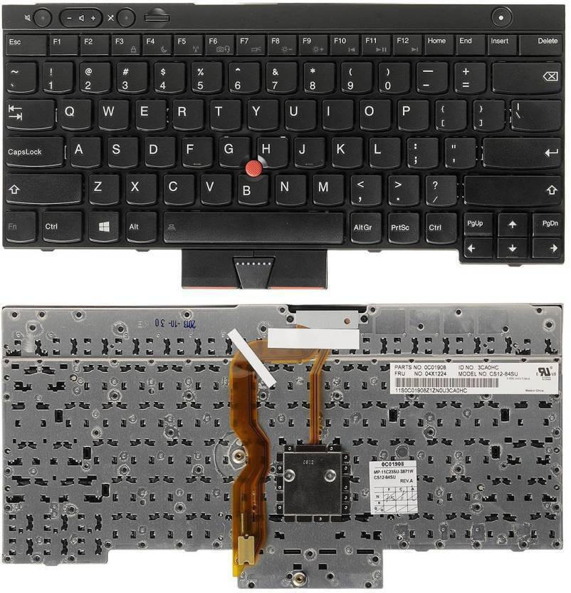 Lenovo T430 T430S Laptop Keyboard Replacement Key Price in