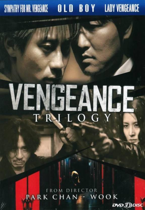 vengeance trilogy dvd , region free with english subtitle