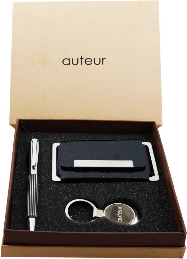 Auteur 3 In One A Premium Metal Roller Ball Pen With German Ink