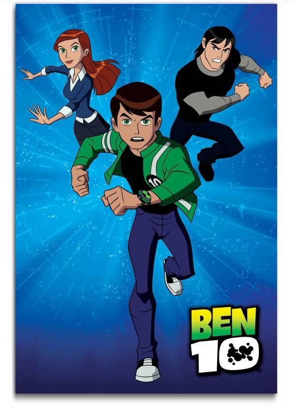 Cartoon Wall Poster - Ben 10 - Ultimate Alien - BenTennyson