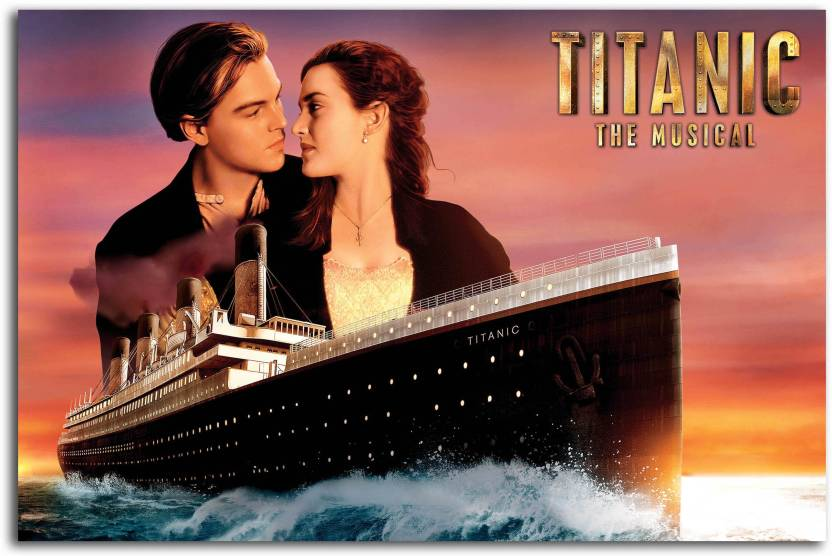 Hollywood Movie Wall Poster - Titanic - Large Size Poster - HD ...