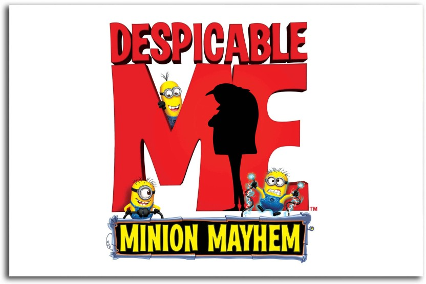 Movie Film Characters Despicable Me Minions Giant Wall Art Poster Print