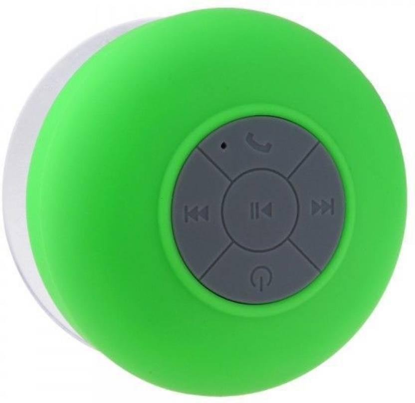 LS Letsshop Waterproof Bluetooth Shower wireless Portable Mobile/Tablet Speaker 3 Bluetooth  Speaker Multicolor, Stereo Channel