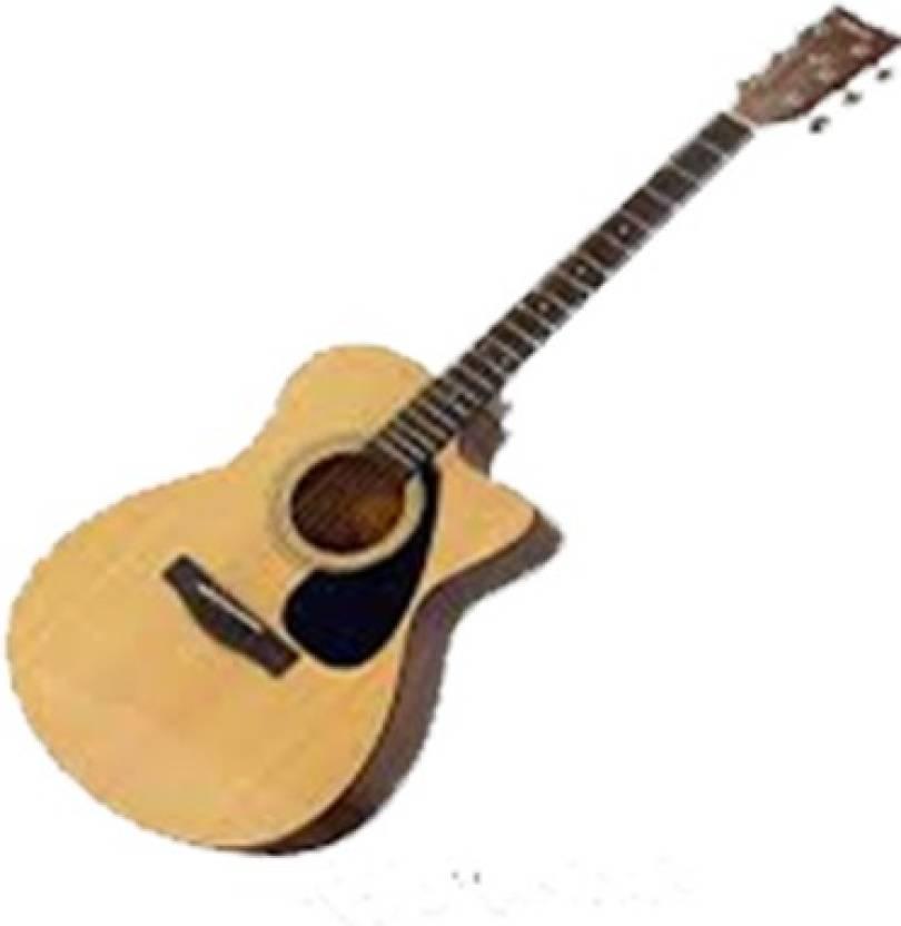 5e7b42fb1df Yamaha FS100C Acoustic Folk Guitar ( Black)With Blueberry Bag Spruce Acoustic  Guitar (Natural)