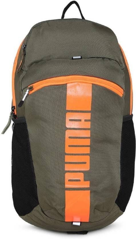 4c2f0a6b30a9 Puma Deck II 21 L Backpack Green - Price in India