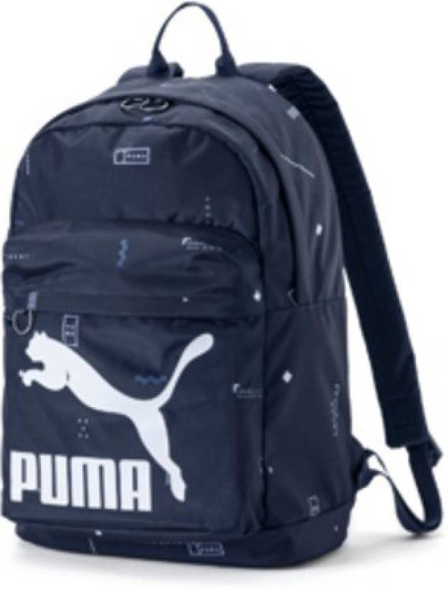 4b65532cd3 Puma Originals Backpack 22.95 L Backpack Navy blue - Price in India ...