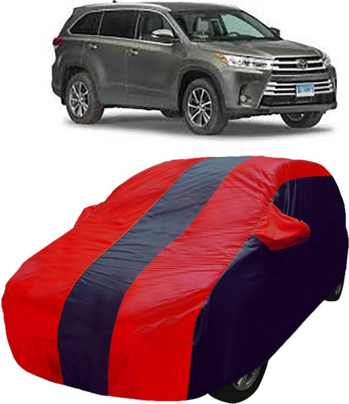 Kandid Car Cover For Toyota Highlander With Mirror Pockets Price