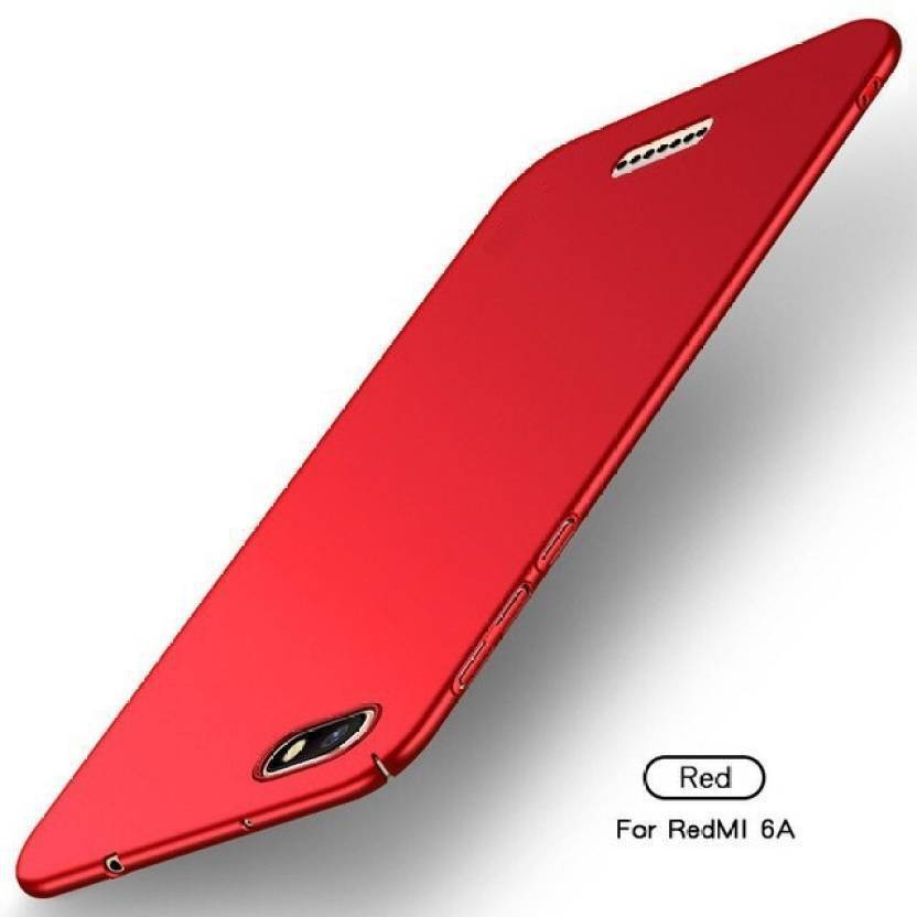 huge discount 39697 46ae5 LHR Back Cover for Mi Redmi 6A (Red, Shock Proof, Plastic) - LHR ...