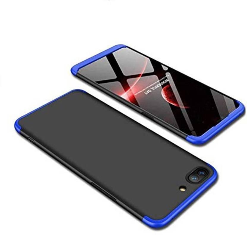 free shipping 7c44b 86581 Niptin Back Cover for Oppo A3S (Black Blue) - Niptin : Flipkart.com